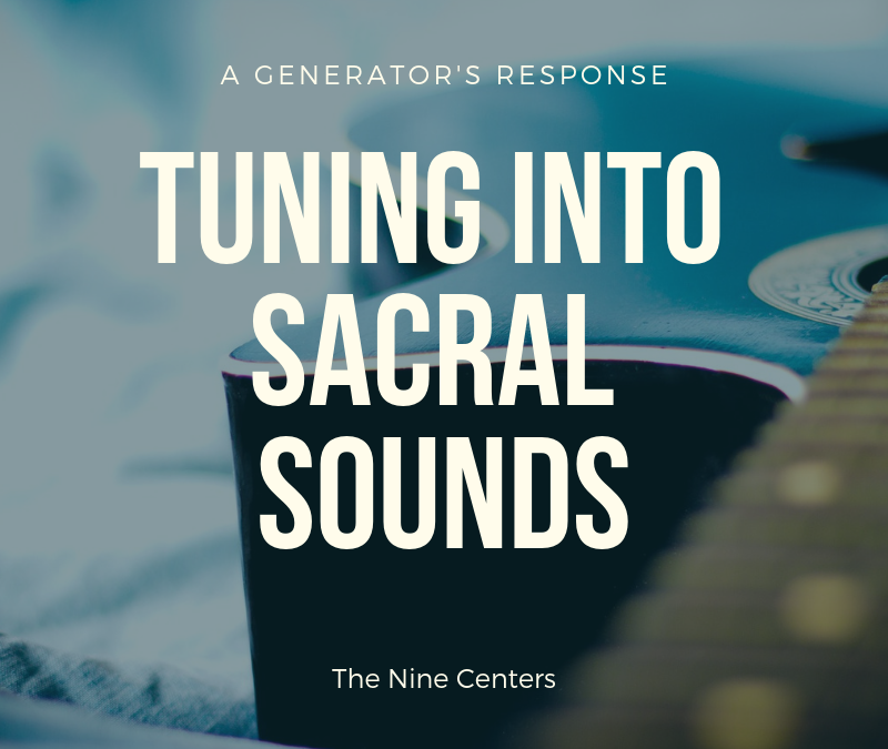 Tuning into sacral sounds